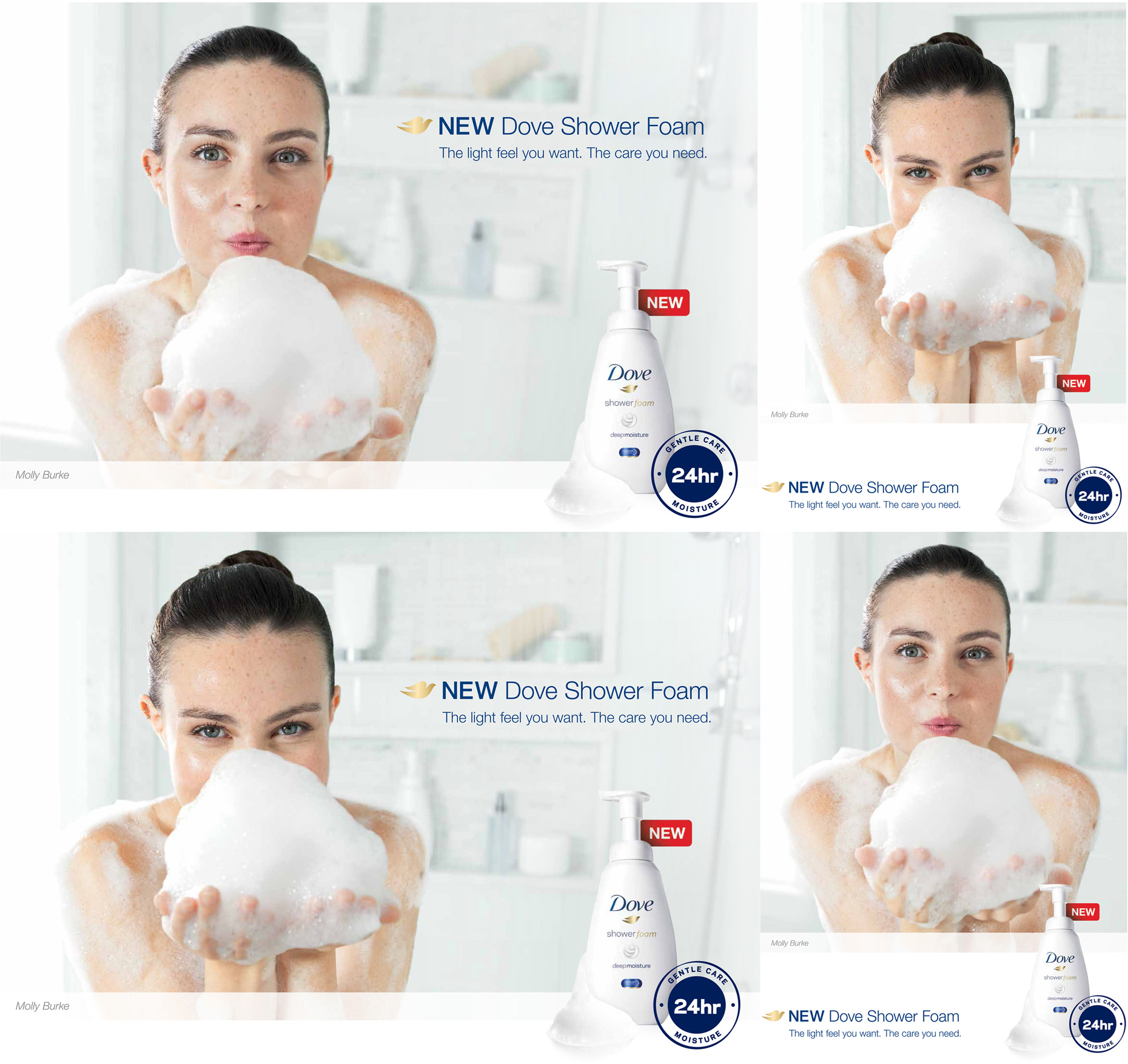 DOVE - SHOWER FOAM CAMPAIGN